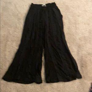 American rag black beach flair pants size XS
